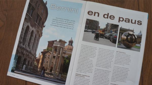 Foto van Artikel Rome In Support Magazine