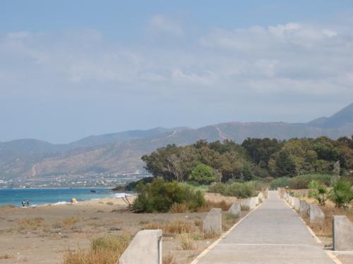 2,5 km pad langs de zee
