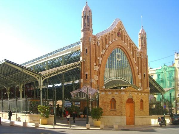 Valencia voormalige markthal