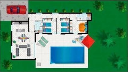 plattegrond Casa Mulder