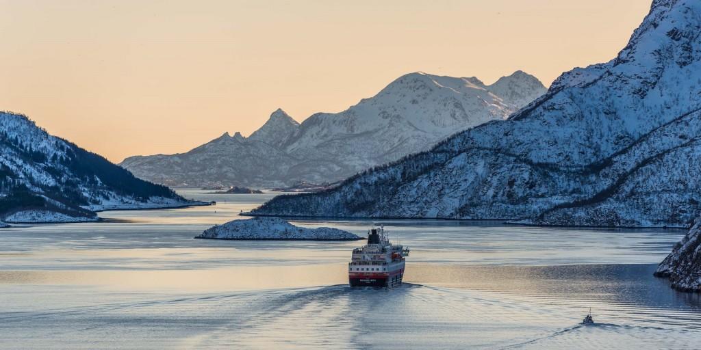 Hurtigruten (foto van Hurtigruten.com)