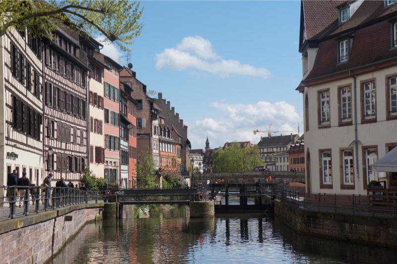 Sfeerbeeld vakwerkhuizen in Straatsburg,